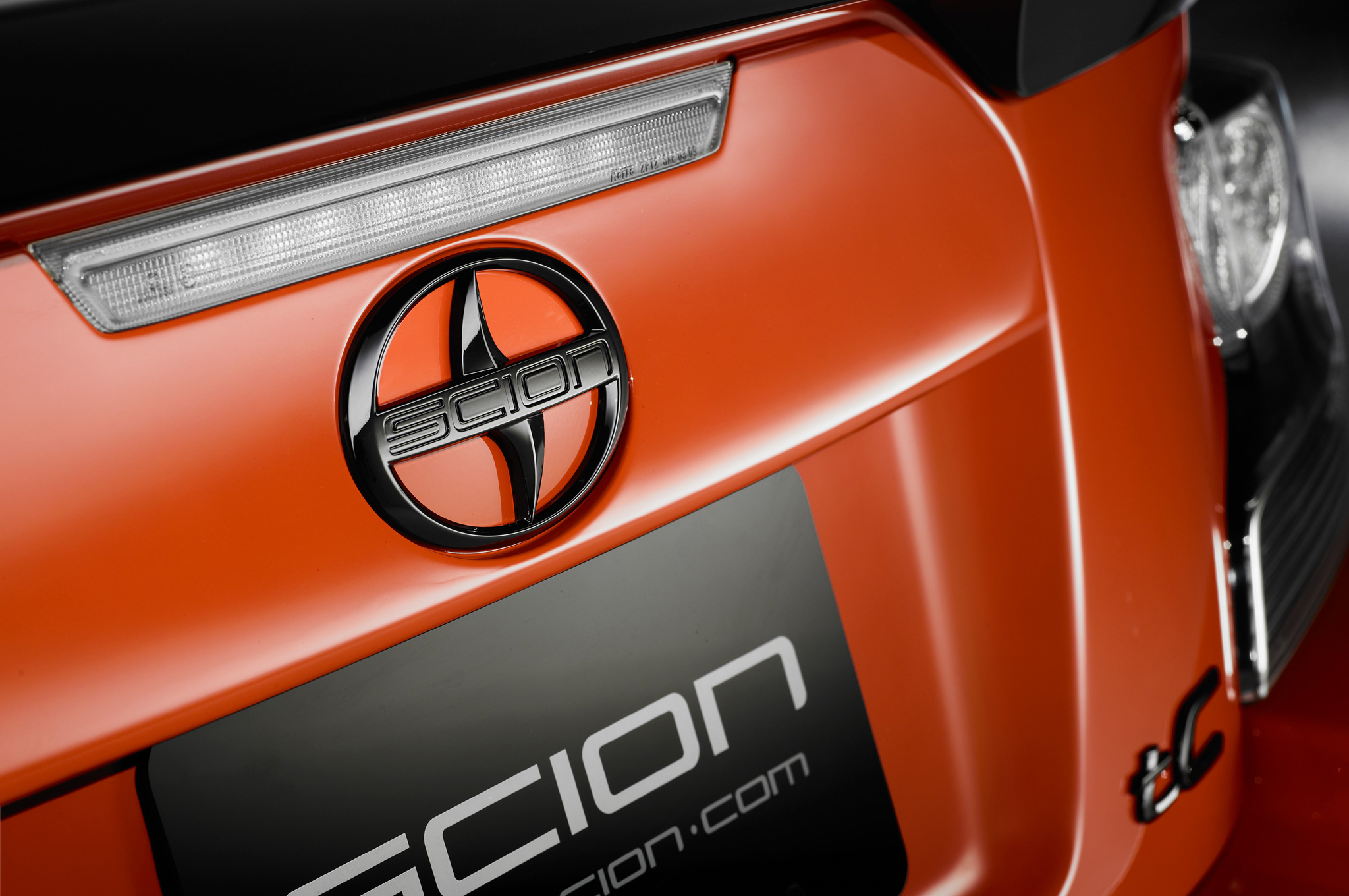 2017 Scion Tc Release Series 9 Rear Badge Closeup