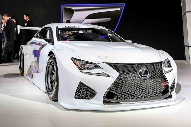 Lexus RC F GT3 Race Car Concept