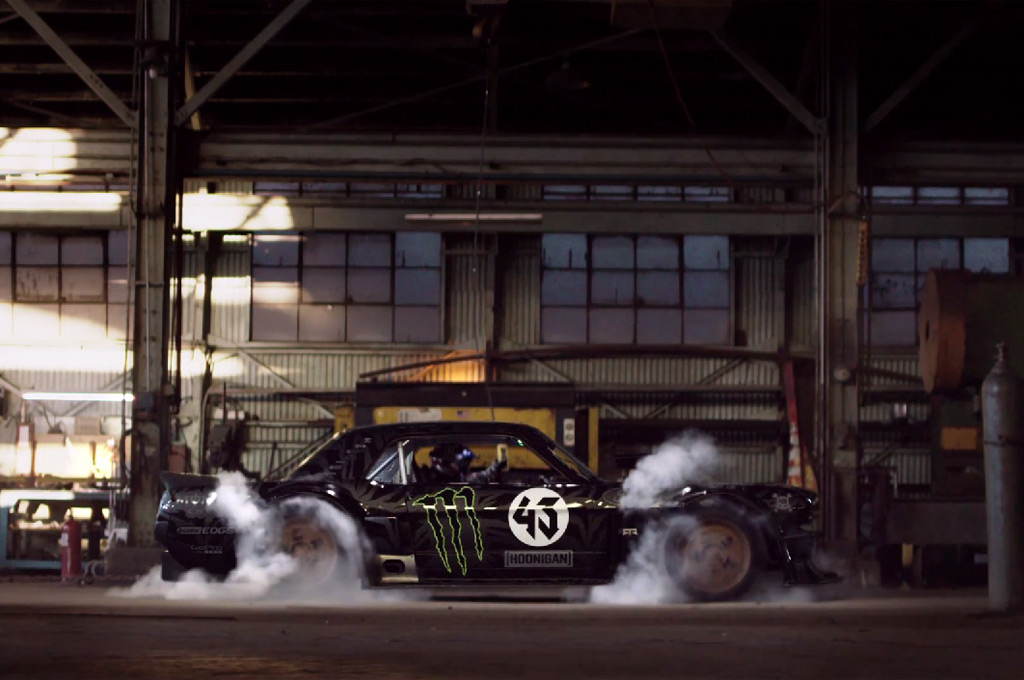 Ken Block Gets Wild In The Streets Of L A In Gymkhana 7 W Video