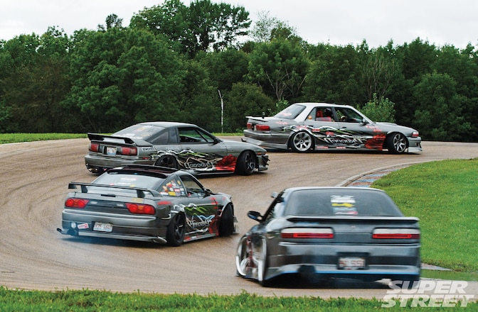 Team Proceed S13s Supra Cressida 01