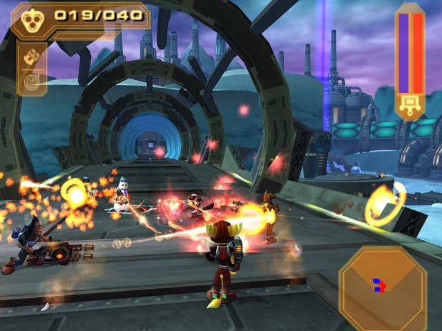 how to play 2 player on ratchet and clank trilogy