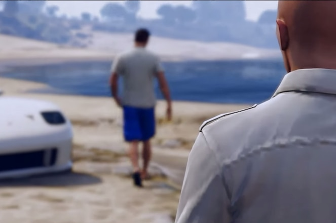 Grand Theft Auto 5 tribute to Paul Walker