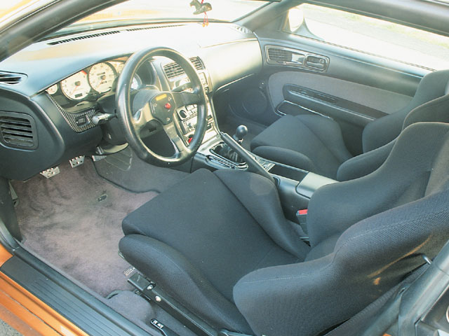 Nissan Silvia S14 Interior