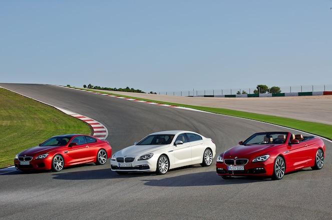 2016 BMW 6 Series Group Shot