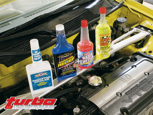 Cooling System Additives - Turbo and High-Tech Performance