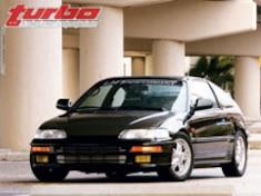 1988 Honda CRX HF - All-Motor 10s