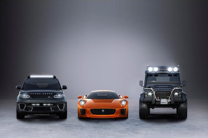 Jaguar Land Rover James Bond