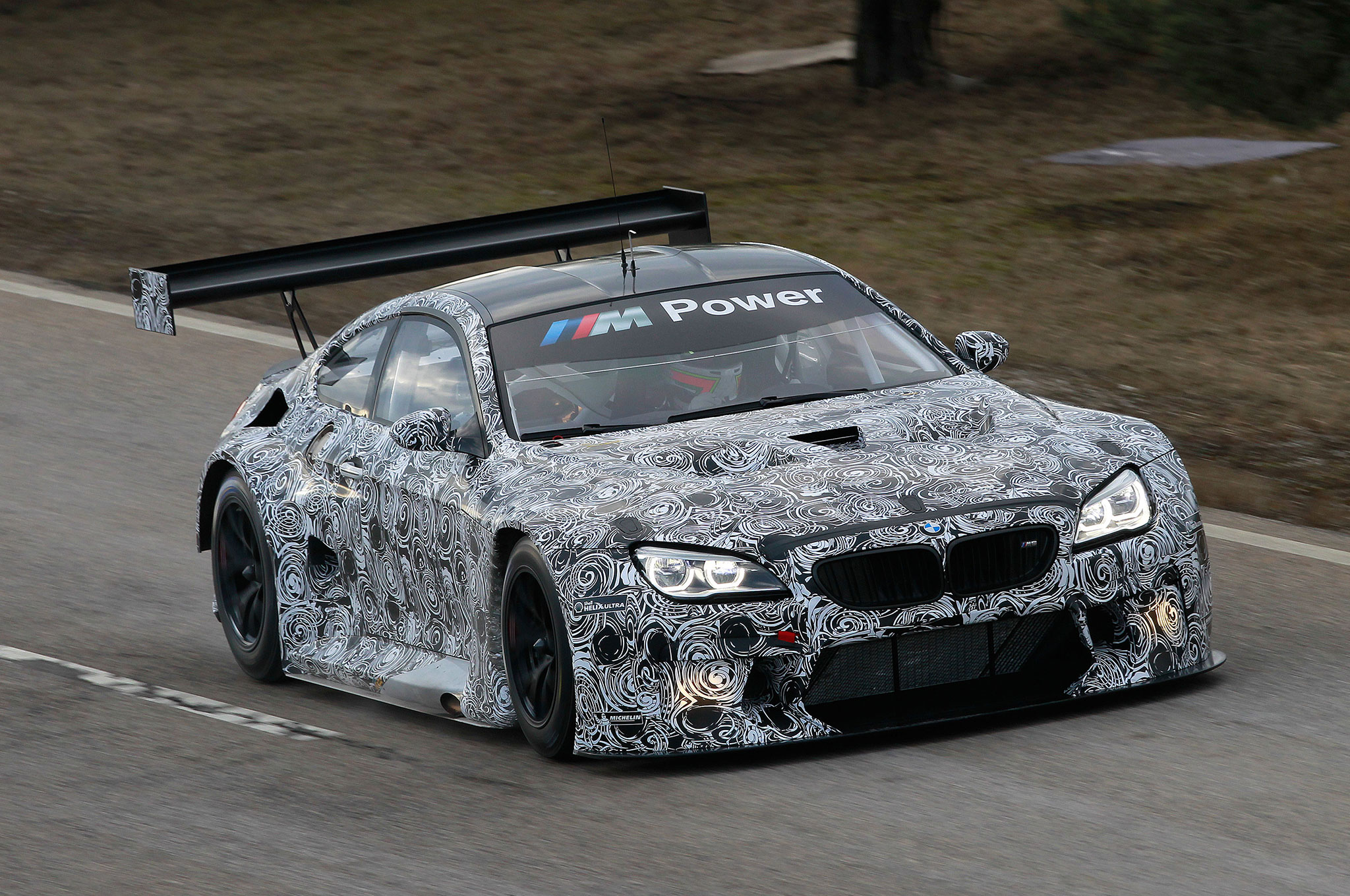Bmw M6 Gt3 Breaks Cover