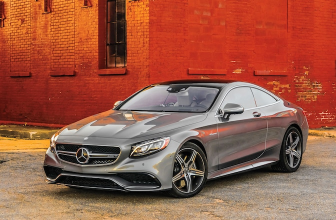 2015 Mercedes Benz S Class Coupe Driver Side Front View 01