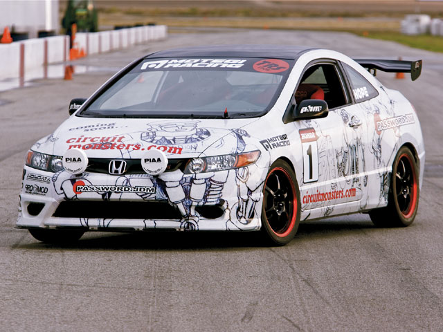 Honda Civic Si - Car Wrap & Graphics - Honda Tuning Magazine