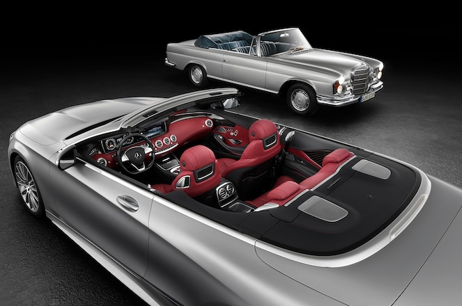 Mercedes Benz S Class Cabriolet From Above Interior
