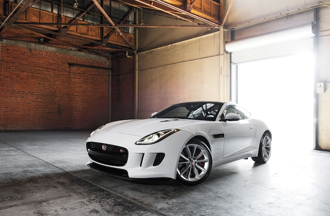 2015 Jaguar F Type S Coupe Driver Side Front View 01
