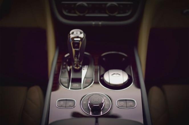 Bentley Bentayga Interior Teaser Center Stack
