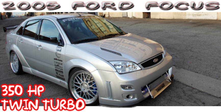 2005 Ford Focus Twin Turbo Tuner Car Super Street Magazine