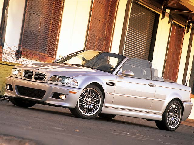 0201 01zoom 2001 Bmw M3 Convertible Front Driver Side View