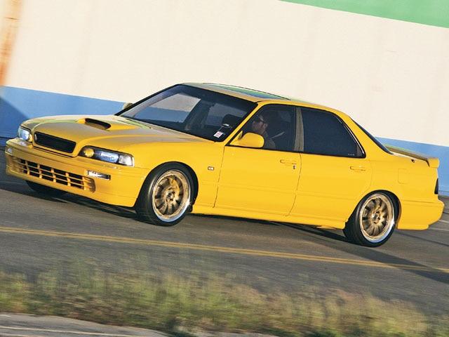 1991 Acura Legend - Feature Car - Honda Tuning