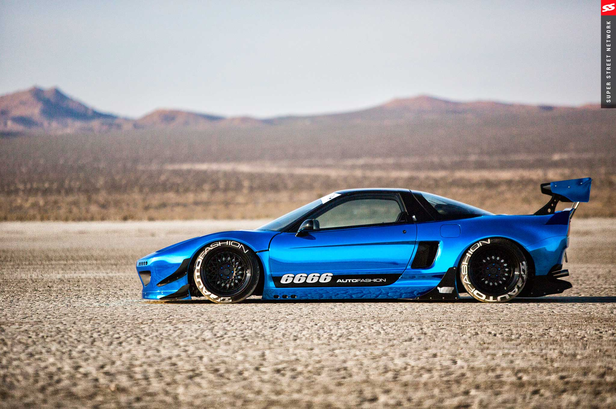 Supercharged Rocket Bunny 1992 Acura Nsx