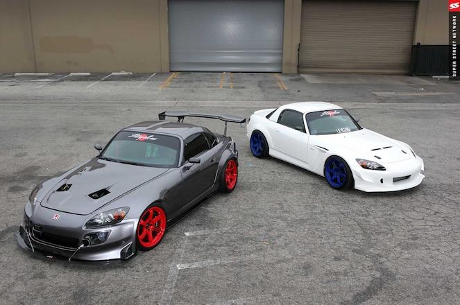 2001 And 2007 Honda S2000s