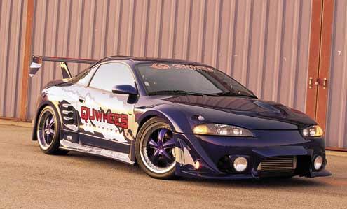 import cars featured custom 1997 mitsubishi eclipse wide body super street magazine super street