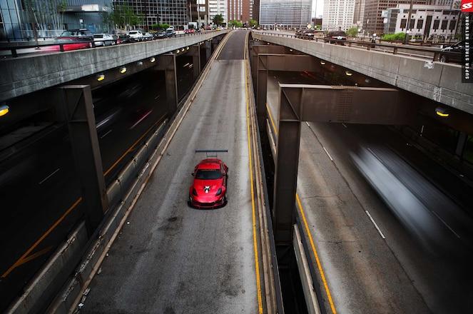 03 Nissan 350Z Track Edition Kognition Design Gt Rear Spoiler