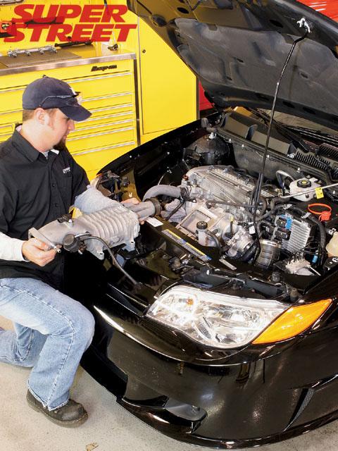 LSJ 2 0 Ecotec Engine - Stage 2 Supercharger Install - Super