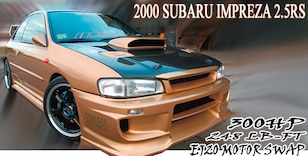 2000 Subaru Impreza 2 5RS Coupe - DIY Done Right - Modified