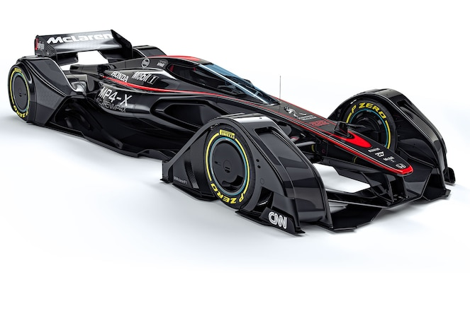 McLaren MP4 X concept front three quarters 2
