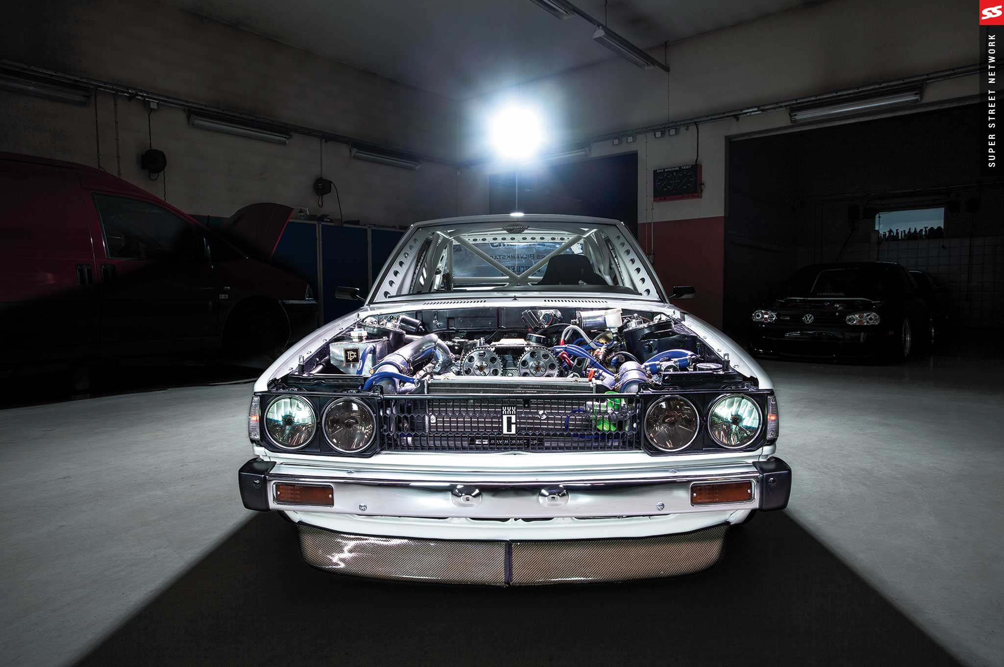 1981 Toyota KE70 Corolla with a Volvo S70R Turbo Engine Swap