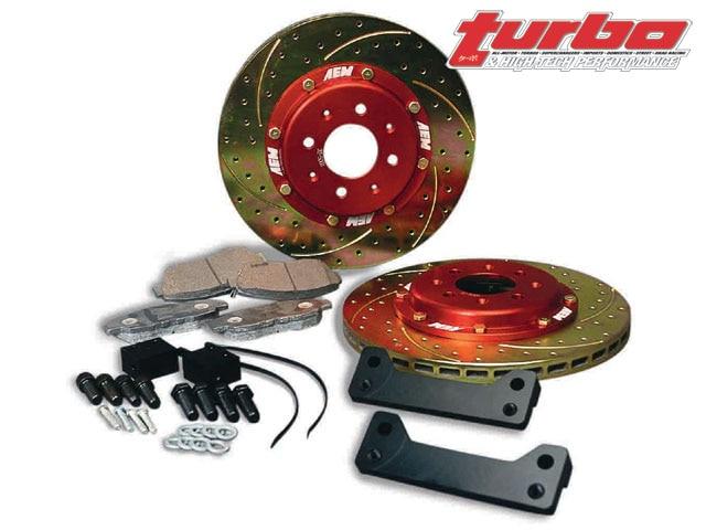 94 Fits Nissan 300ZX Turbo//Non-Turbo Max Performance Ceramic Brake Pads F