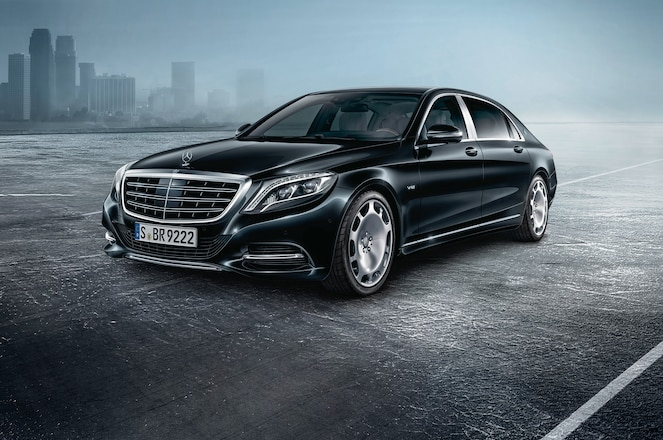 Mercedes Maybach S600 Guard front three quarter
