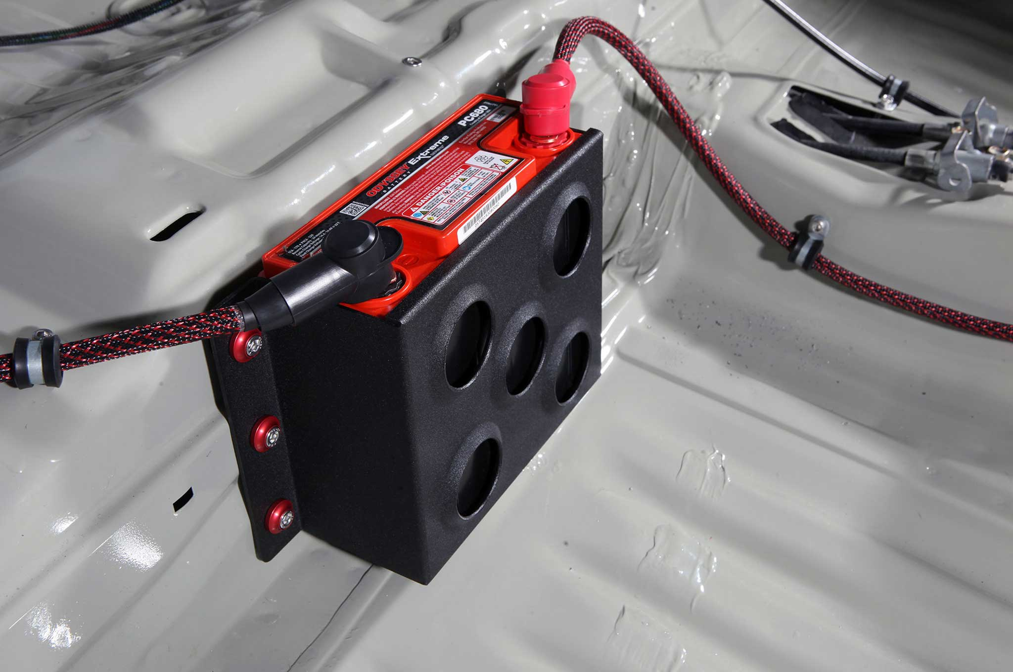 [DHAV_9290]  The Hows And Whys of Battery Relocation - Garage Tech | Chevy Silverado Fuse Box Relocation |  | Super Street