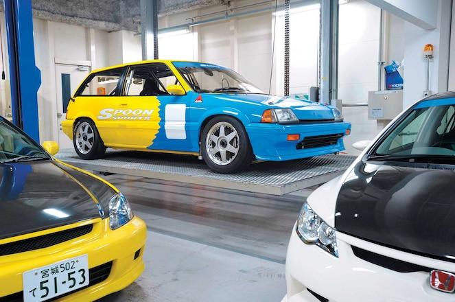 Spoon-1985-Honda-Civic-E-AT-Group-Side-View