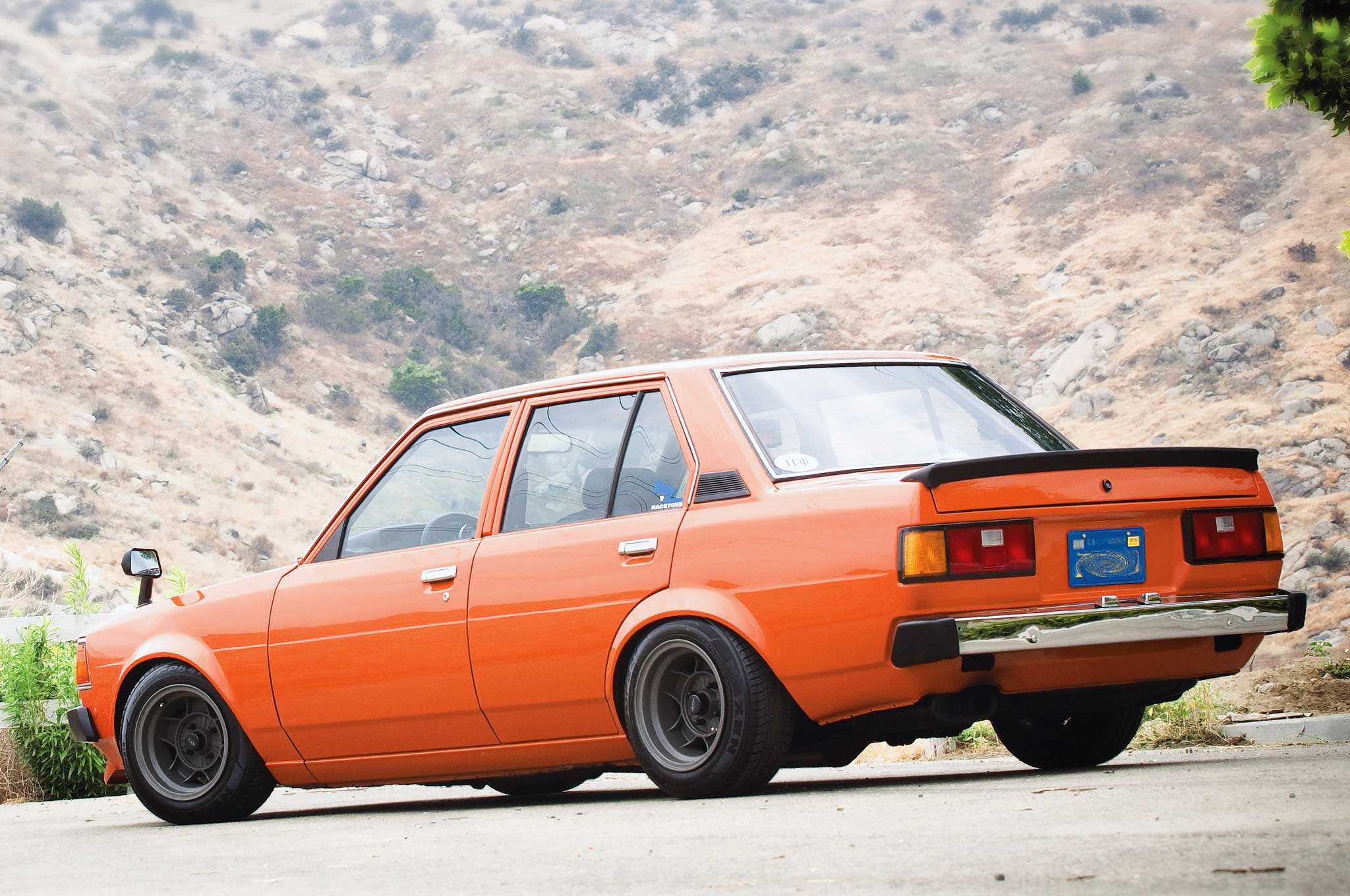 1983 Toyota Corolla Ae71 With A Blacktop 4a Ge