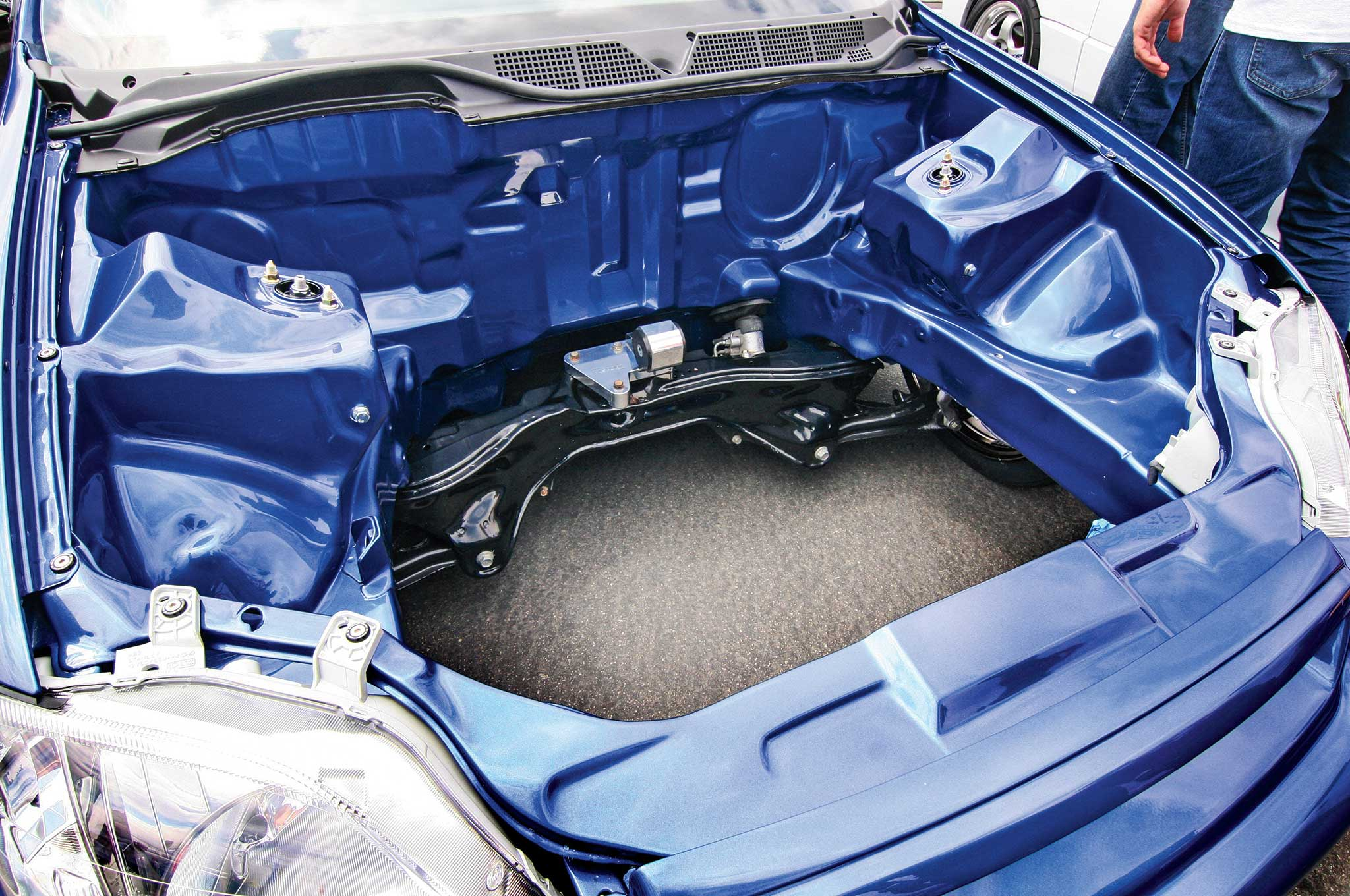Properly Shaved And Tucked Engine Bay How To