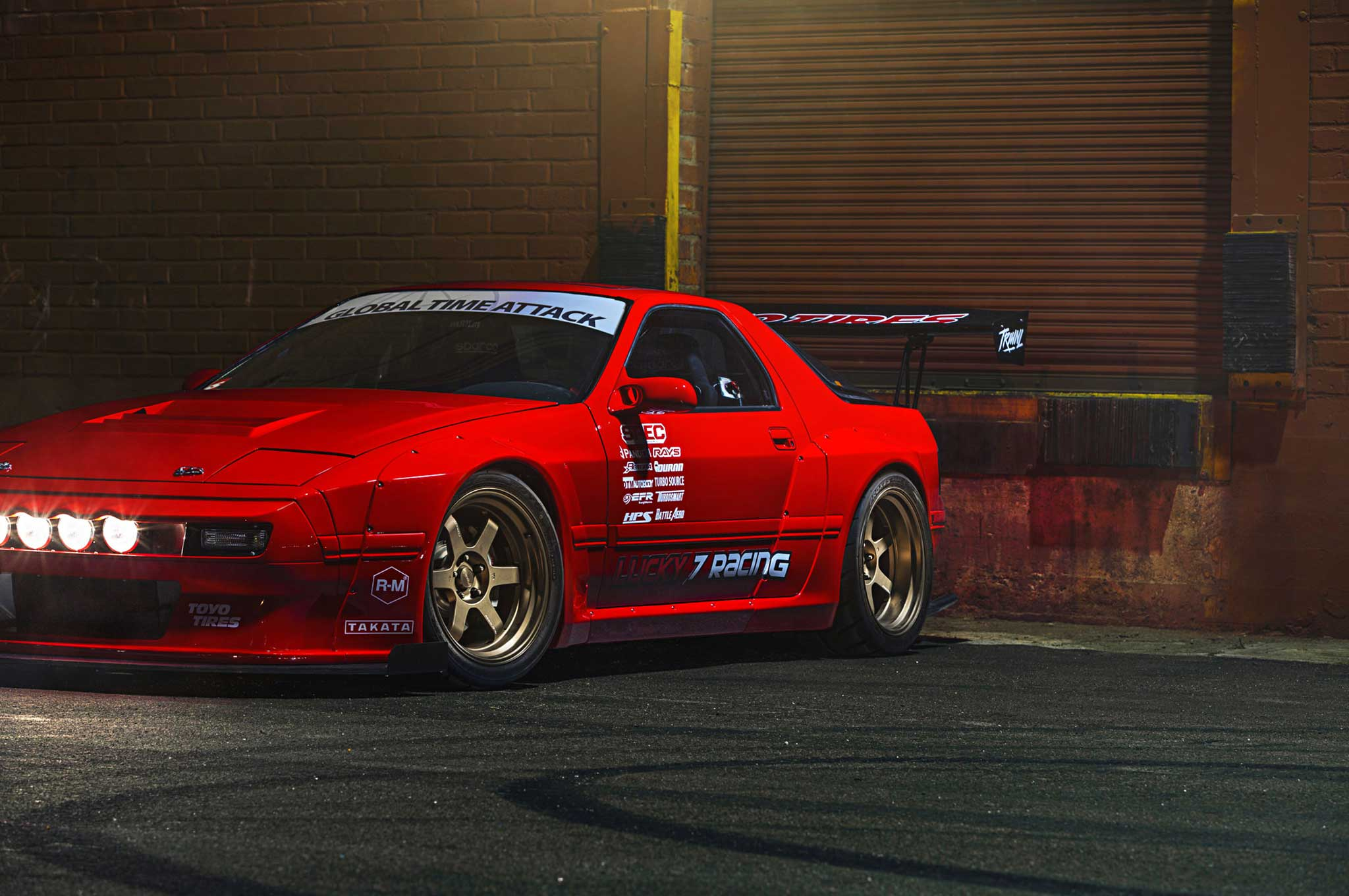 1987 Mazda Rx 7 Lucky Number 7