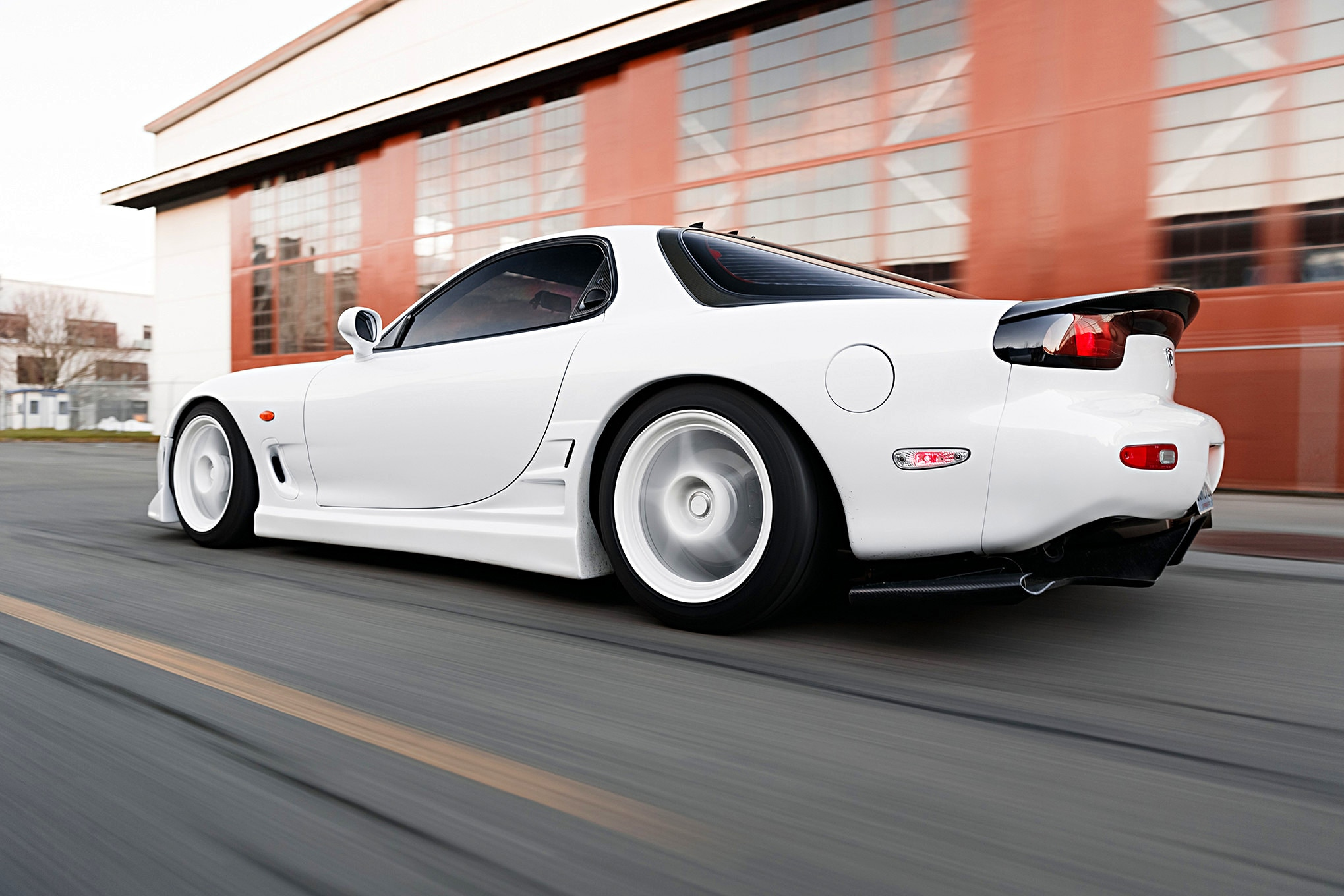 Mazda RX7 FD3S VX Style Front Bumper Side skirts Pair