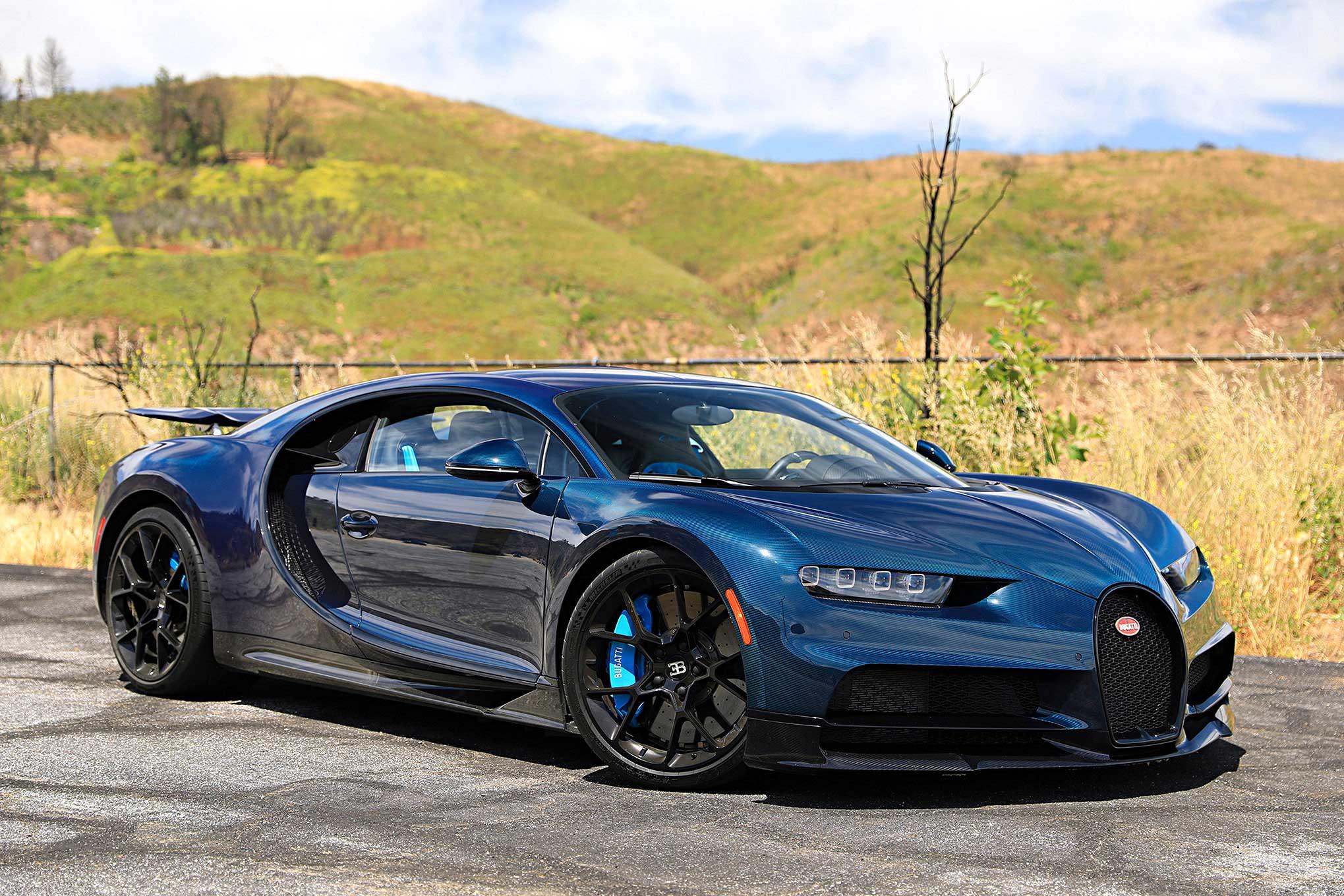 On The Road Bugatti Chiron
