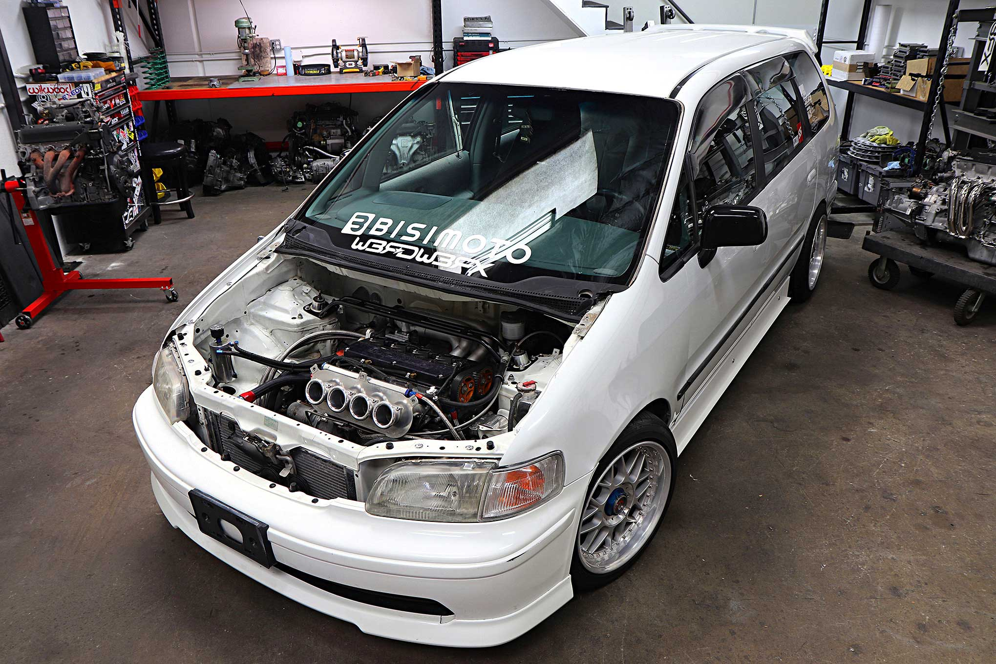 1995 Honda Odyssey LX Rebuild - Part 2Super Street