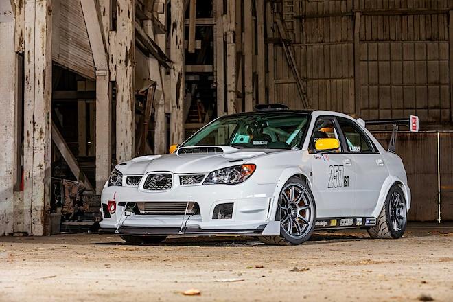 2006 Subaru WRX STI - Rolled to Resurrection