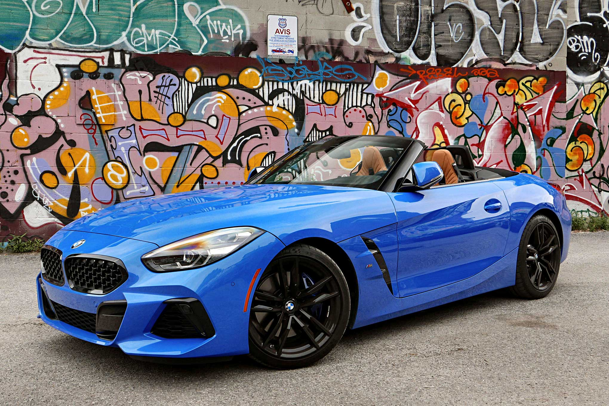 On The Road 2020 Bmw Z4 M40i