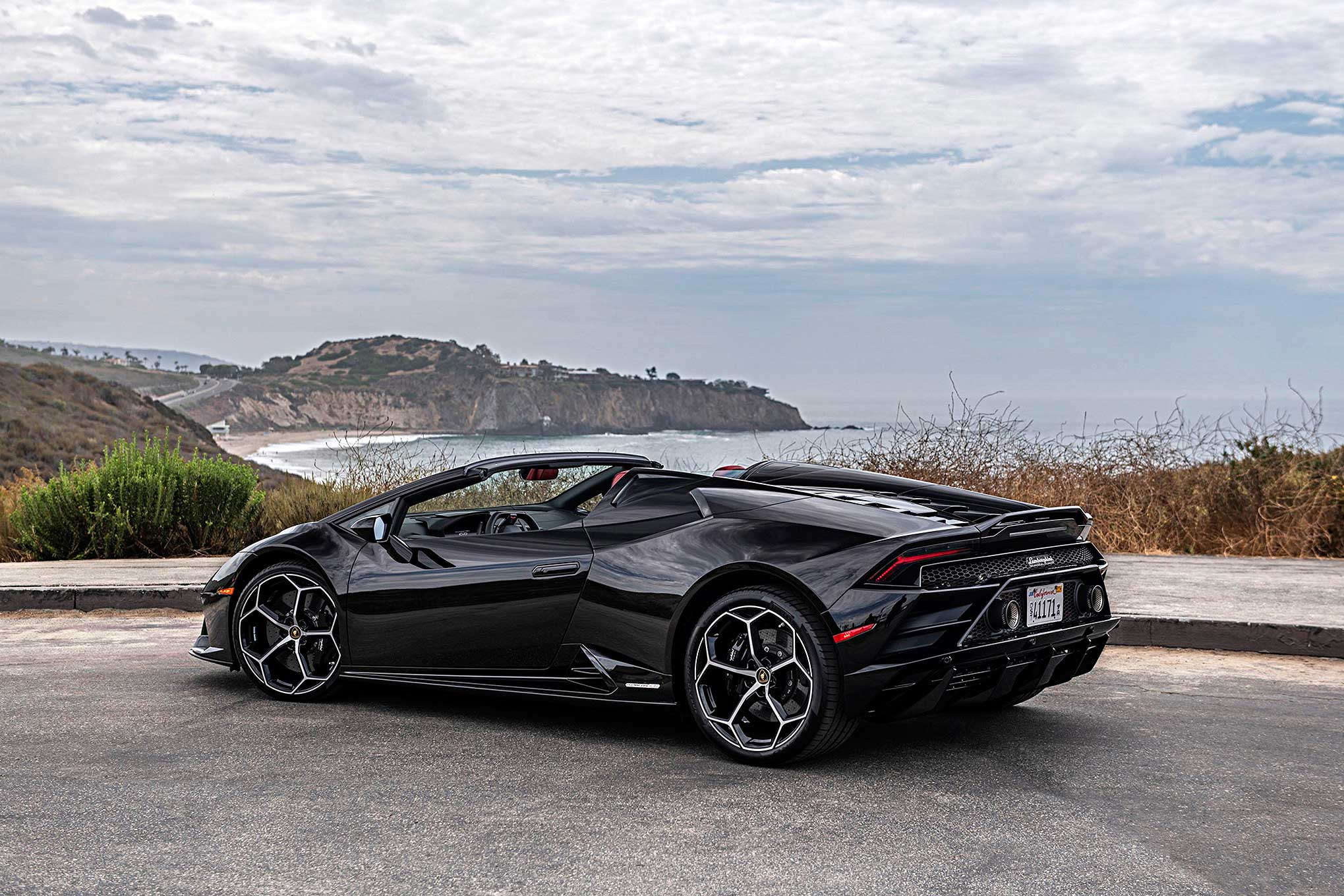 On The Road 2020 Lamborghini Huracan Evo Spyder
