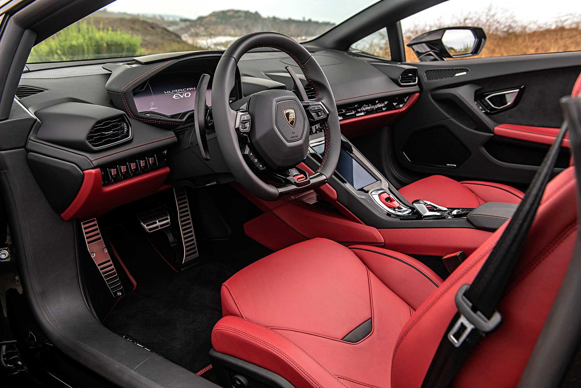 On the Road 2020 Lamborghini Huracan Evo Spyder