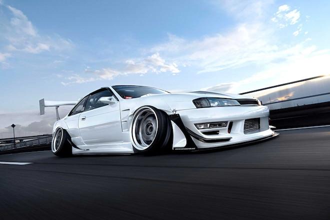 1996 Nissan Silvia K's (S14) - Camber Alert