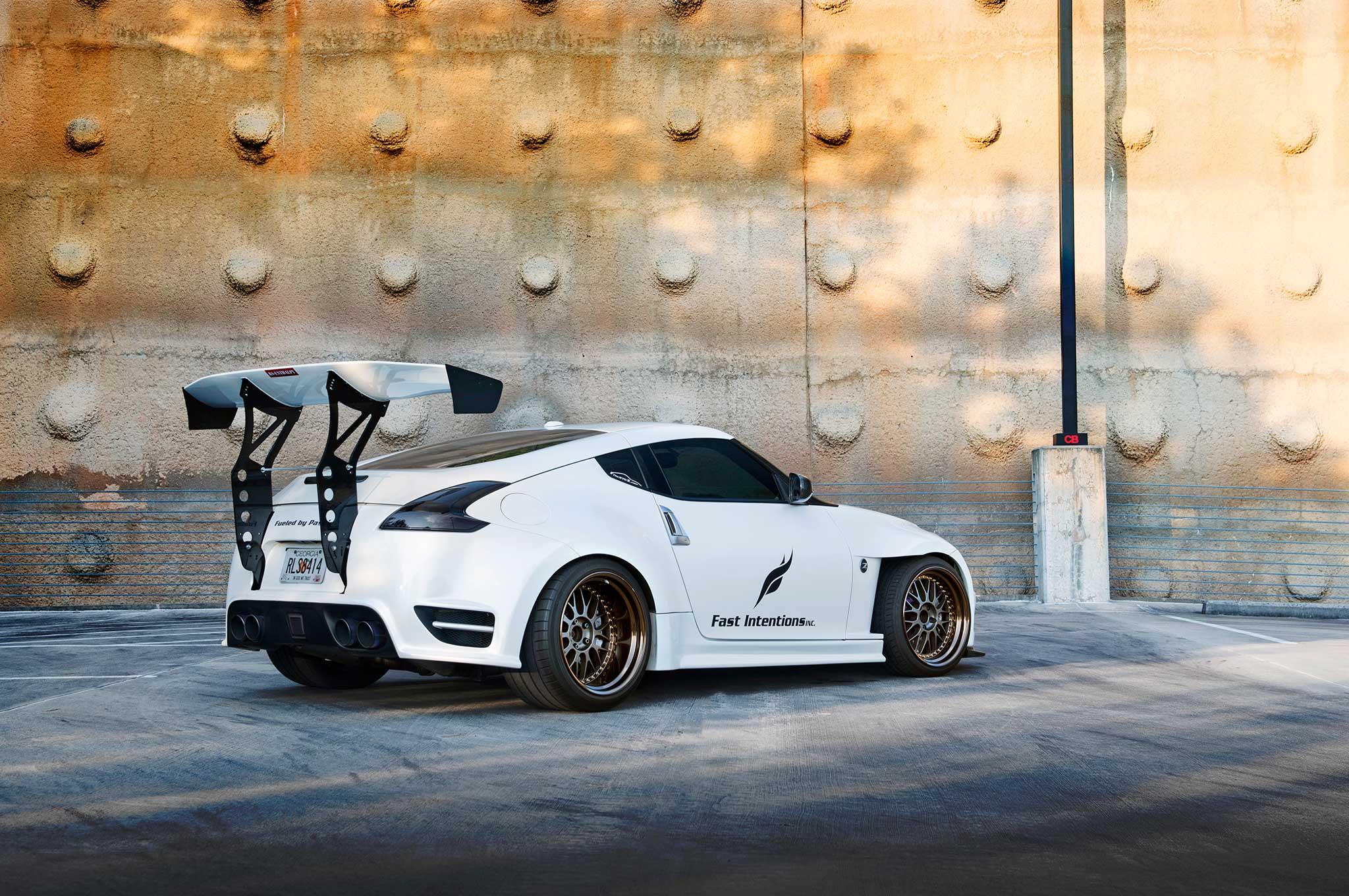 2009 Nissan 370z Taming The White Dragon