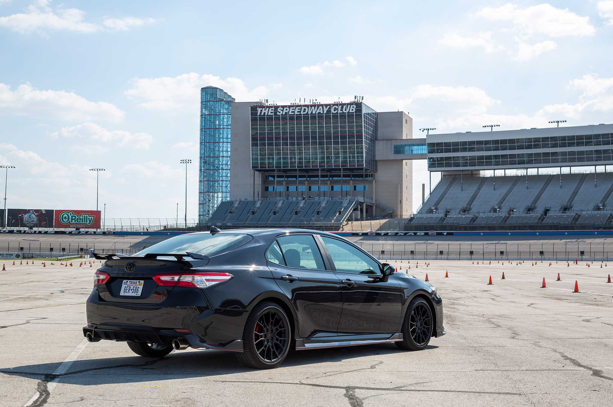 2020 Toyota Camry Trd Review First Drive