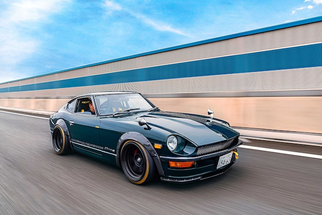 1976 Fairlady Z: From Ashy to Classy in Just 12 Months