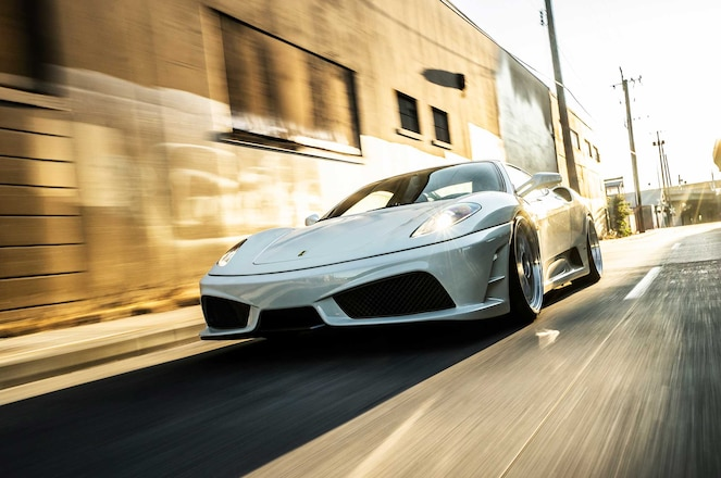 2005 Ferrari F430: The Best-Looking F430 Courtesy Of Air-Ride, BBS LMs & More