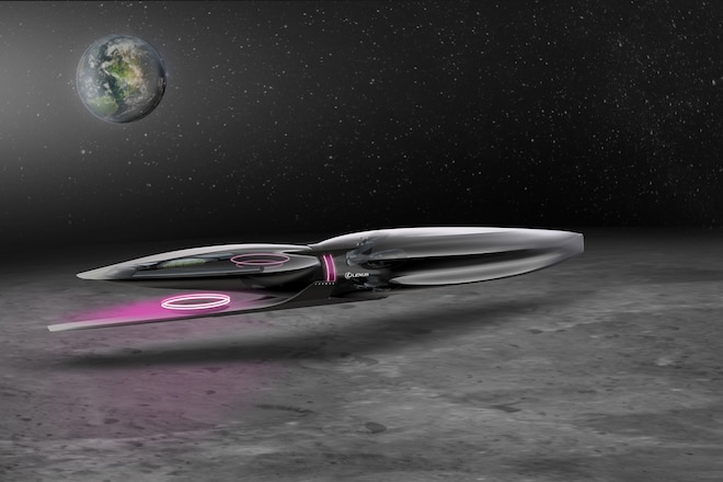 Lexus Is Designing Vehicles for the Moon