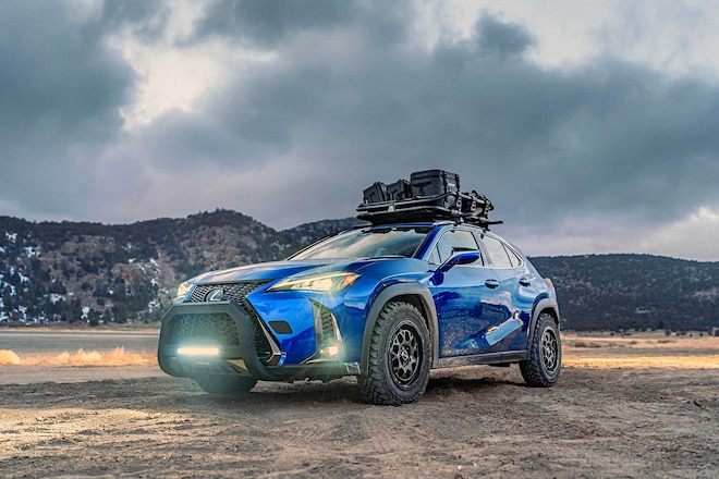 Modifying The Lexus UX For Off-Road Adventure Seeking - Upgraded Suspension, Wheels & Tires