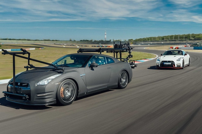 Nissan Flexes Its GT-R NISMO Camera Car, Built to Chase Down Other R35s
